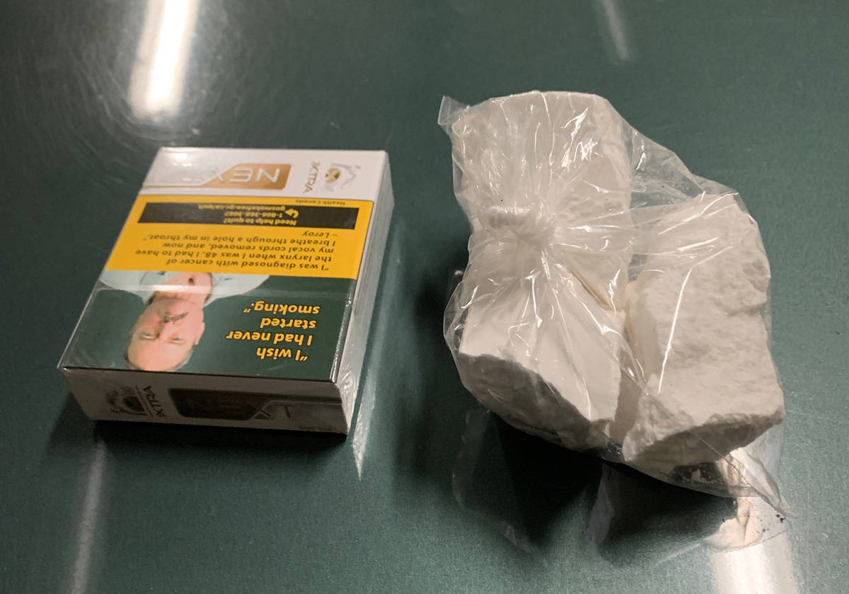 Subject arrested for drug trafficking - ten ounces of cocaine seized.